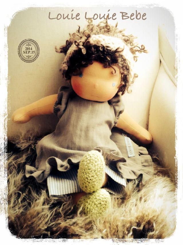 Old fashioned Waldorf doll